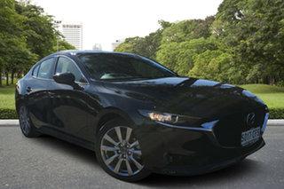 2020 Mazda 3 BP2SLA G25 SKYACTIV-Drive Evolve Jet Black 6 Speed Sports Automatic Sedan.