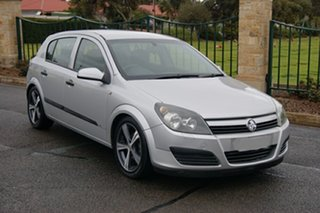 2004 Holden Astra AH CD Silver 5 Speed Manual Hatchback.