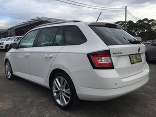 2016 Skoda Fabia NJ MY17 81TSI DSG White 7 Speed Sports Automatic Dual Clutch Wagon