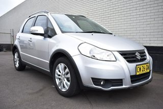 2013 Suzuki SX4 GYA MY13 Crossover S Silver 6 Speed Constant Variable Hatchback.