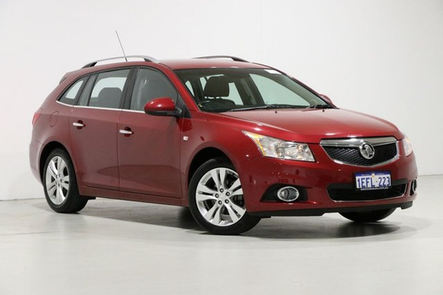 Used Holden Cruze JH MY13 CDX, 2013 Holden Cruze JH MY13 CDX Red 6 Speed Automatic Sportswagon