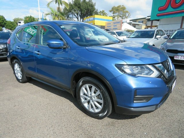Used Nissan X-Trail T32 Series II ST X-tronic 4WD, 2018 Nissan X-Trail T32 Series II ST X-tronic 4WD Blue 7 Speed Constant Variable Wagon