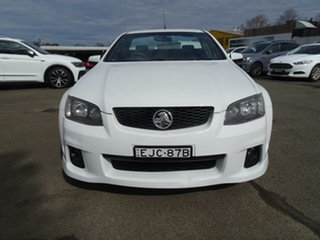 2011 Holden Ute VE II SV6 Heron White 6 Speed Manual Utility