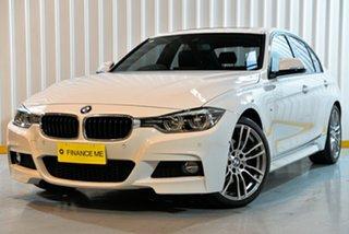 2015 BMW 3 Series F30 LCI 330i Sport Line White 8 Speed Sports Automatic Sedan.