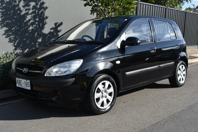 Used Hyundai Getz TB MY07 S, 2007 Hyundai Getz TB MY07 S Black 5 Speed Manual Hatchback