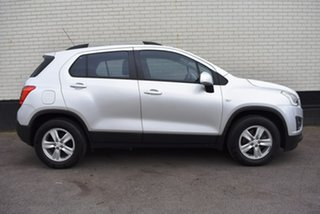 2013 Holden Trax TJ MY14 LS Silver 6 Speed Automatic Wagon