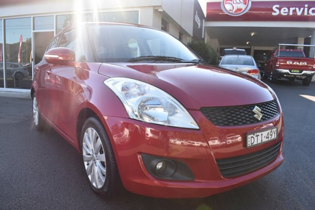 Used Suzuki Swift FZ GL, 2012 Suzuki Swift FZ GL Red 5 Speed Manual Hatchback