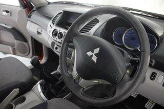 2008 Mitsubishi Triton ML MY08 GLX-R Double Cab Red 5 Speed Manual Utility