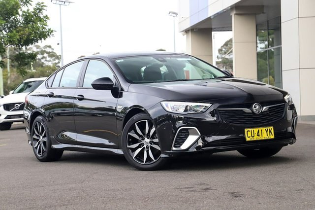 Used Holden Commodore ZB MY18 RS Liftback Sutherland, 2018 Holden Commodore ZB MY18 RS Liftback Black 9 Speed Sports Automatic Liftback