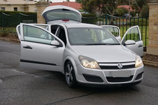 2004 Holden Astra AH CD Silver 5 Speed Manual Hatchback