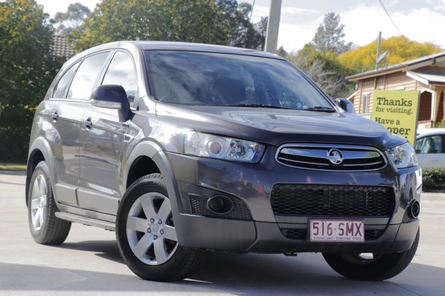 Used Holden Captiva CG MY13 7 SX, 2013 Holden Captiva CG MY13 7 SX Grey 6 Speed Sports Automatic Wagon