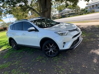 2016 Toyota RAV4 ZSA42R GXL 2WD Blizzard Pearl 7 Speed Constant Variable Wagon.
