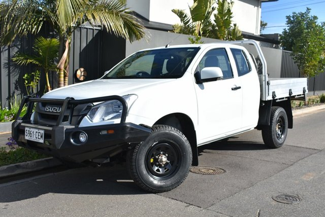 Used Isuzu D-MAX MY17 SX Space Cab, 2017 Isuzu D-MAX MY17 SX Space Cab White 6 Speed Manual Cab Chassis