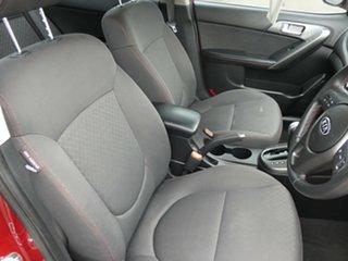 2010 Kia Cerato TD MY10 SLi Red 4 Speed Sports Automatic Sedan