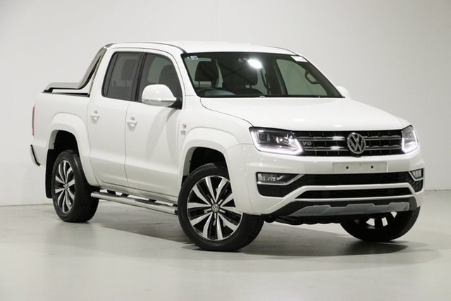 Used Volkswagen Amarok 2H MY19 V6 TDI 580 Ultimate, 2019 Volkswagen Amarok 2H MY19 V6 TDI 580 Ultimate White 8 Speed Automatic Dual Cab Utility