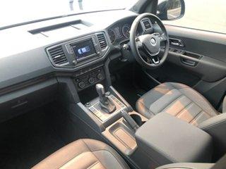 2019 Volkswagen Amarok 2H MY20 TDI580 4MOTION Perm Highline Black Blue 8 Speed Automatic Utility