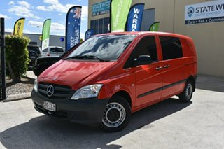 2013 Mercedes-Benz Vito MY13 116CDI SWB Red 5 Speed Automatic Van