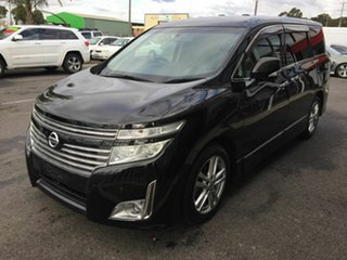 2010 Nissan Elgrand E51 Black 5 Speed Automatic Wagon