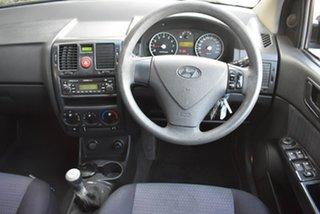 2007 Hyundai Getz TB MY07 S Black 5 Speed Manual Hatchback