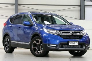2020 Honda CR-V RW MY20 VTi-LX 4WD Brilliant Sporty Blue 1 Speed Constant Variable Wagon.
