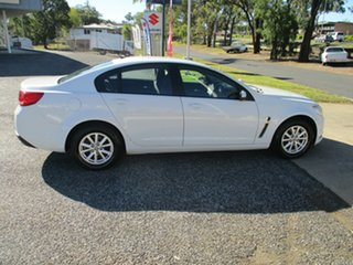 2015 Holden Commodore VF MY15 Evoke White 6 Speed Sports Automatic Sedan.