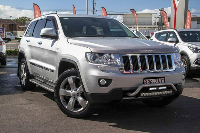 Used Jeep Grand Cherokee WK MY2013 Limited, 2012 Jeep Grand Cherokee WK MY2013 Limited Silver 5 Speed Sports Automatic Wagon