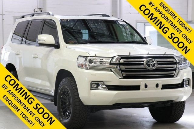 Used Toyota Landcruiser VDJ200R MY16 VX (4x4), 2018 Toyota Landcruiser VDJ200R MY16 VX (4x4) Crystal Pearl 6 Speed Automatic Wagon