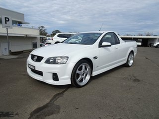 2011 Holden Ute VE II SV6 Heron White 6 Speed Manual Utility.