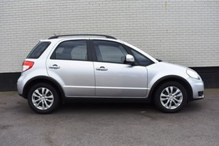 2013 Suzuki SX4 GYA MY13 Crossover S Silver 6 Speed Constant Variable Hatchback