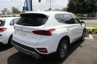 2020 Hyundai Santa Fe TM.2 MY20 Elite White Cream 8 Speed Sports Automatic Wagon.