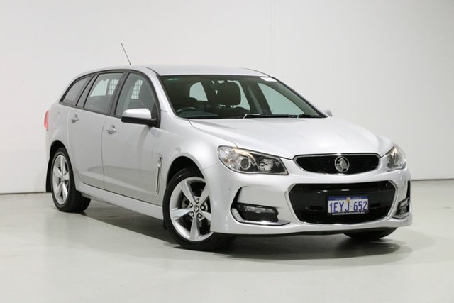 Used Holden Commodore VF II SV6, 2015 Holden Commodore VF II SV6 Silver 6 Speed Automatic Sportswagon