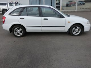 2000 Mazda 323 BJ Astina White 4 Speed Automatic Hatchback