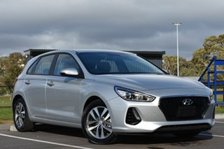 2018 Hyundai i30 PD MY18 Active Silver 6 Speed Sports Automatic Hatchback.