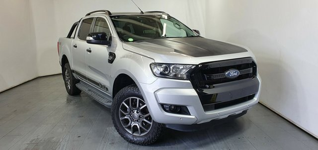 Used Ford Ranger PX MkII FX4 Double Cab, 2017 Ford Ranger PX MkII FX4 Double Cab Silver 6 Speed Sports Automatic Utility