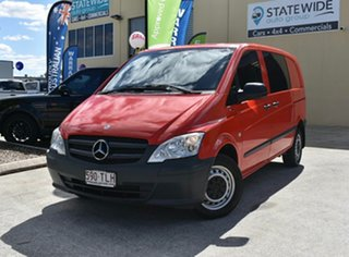 2013 Mercedes-Benz Vito MY13 116CDI SWB Red 5 Speed Automatic Van.