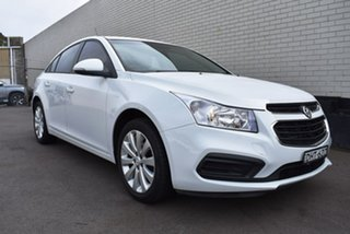 2016 Holden Cruze JH Series II MY16 Equipe White 6 Speed Sports Automatic Sedan.