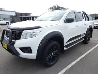 2018 Nissan Navara D23 S3 ST Black Edition White 7 Speed Sports Automatic Utility.