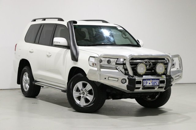 Used Toyota Landcruiser VDJ200R MY16 GXL (4x4), 2018 Toyota Landcruiser VDJ200R MY16 GXL (4x4) Pearl White 6 Speed Automatic Wagon