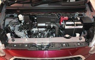 2019 Mitsubishi Mirage LA MY20 ES Wine Red 1 Speed Constant Variable Hatchback