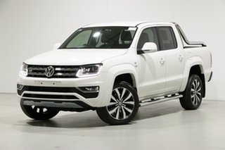 2019 Volkswagen Amarok 2H MY19 V6 TDI 580 Ultimate White 8 Speed Automatic Dual Cab Utility.