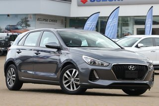 2017 Hyundai i30 PD Active Iron Grey Automatic Hatchback.