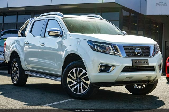 Demo Nissan Navara D23 S4 MY20 ST-X, 2020 Nissan Navara D23 S4 MY20 ST-X White Diamond 7 Speed Sports Automatic Utility