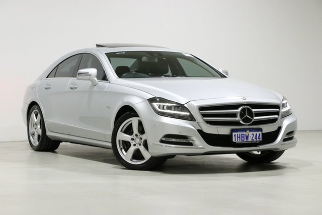 Used Mercedes-Benz CLS350 218 BlueEFFICIENCY, 2011 Mercedes-Benz CLS350 218 BlueEFFICIENCY Silver 7 Speed Automatic G-Tronic Coupe
