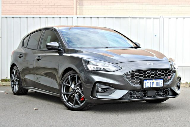 Demo Ford Focus SA 2020.25MY ST, 2020 Ford Focus SA 2020.25MY ST Grey 7 Speed Automatic Hatchback