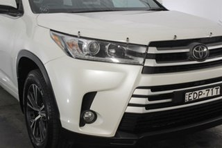 2019 Toyota Kluger GSU50R GX 2WD White 8 Speed Sports Automatic Wagon.
