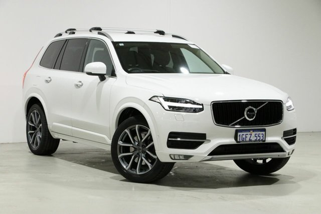 Used Volvo XC90 256 MY17 D5 Momentum (AWD), 2017 Volvo XC90 256 MY17 D5 Momentum (AWD) White 8 Speed Automatic Geartronic Wagon
