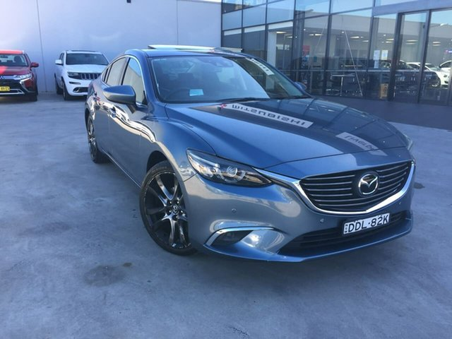 Used Mazda 6 GJ1031 Atenza SKYACTIV-Drive, 2014 Mazda 6 GJ1031 Atenza SKYACTIV-Drive Blue 6 Speed Sports Automatic Sedan