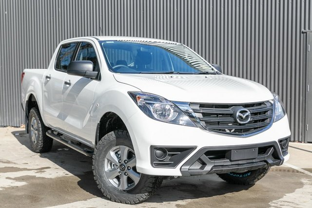 New Mazda BT-50 UR0YG1 XT Mornington, 2019 Mazda BT-50 UR0YG1 XT Cool White 6 Speed Sports Automatic Utility
