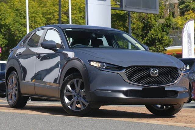 New Mazda CX-30 DM2W7A G20 SKYACTIV-Drive Evolve, 2020 Mazda CX-30 DM2W7A G20 SKYACTIV-Drive Evolve Polymetal Grey 6 Speed Sports Automatic Wagon