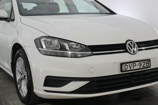 2017 Volkswagen Golf 7.5 MY18 110TSI White 6 Speed Manual Hatchback.